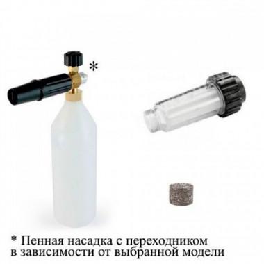 Насадка для Интерскол + пенная таблетка + фильтр