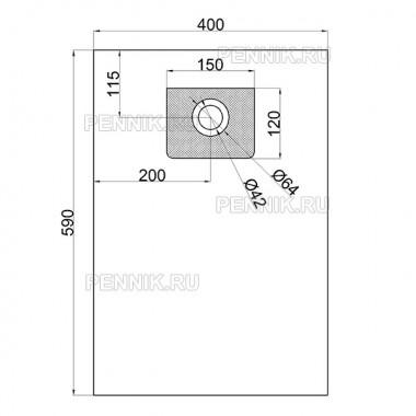 Мешок для пылесоса NT 35/1 аналог 6.907-479