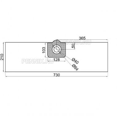 Фильтр-мешки для пылесосов серии A, SE, WD, MV аналог 6.959-130