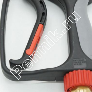 Пистолет высокого давления для мойки с защитой о перекручивания шланга