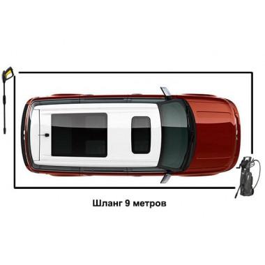 Шланг ВД 9 м. для Karcher гайка-штуцер без подшипника
