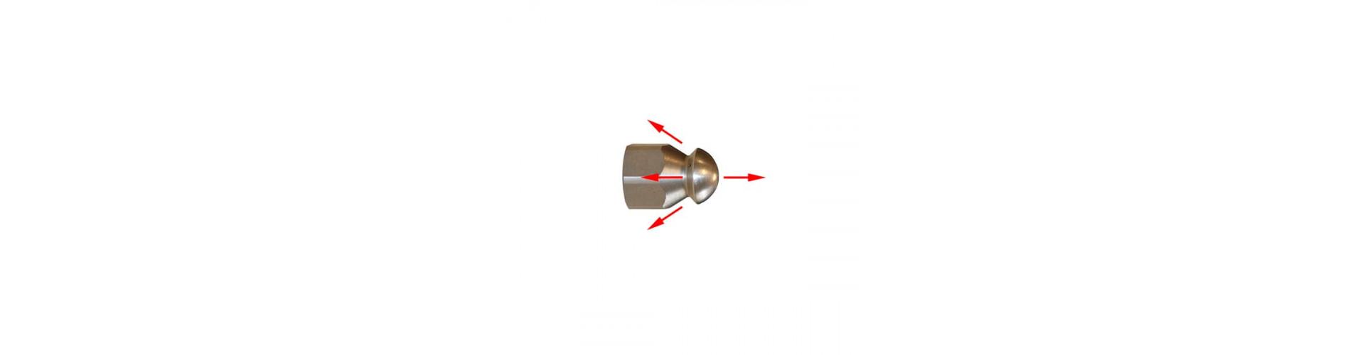Видео работы шланга прочистки для труб 30 метров