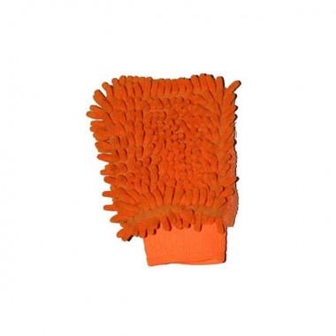 Варежка из микрофибры для удобства уборки и мойки автомобиля